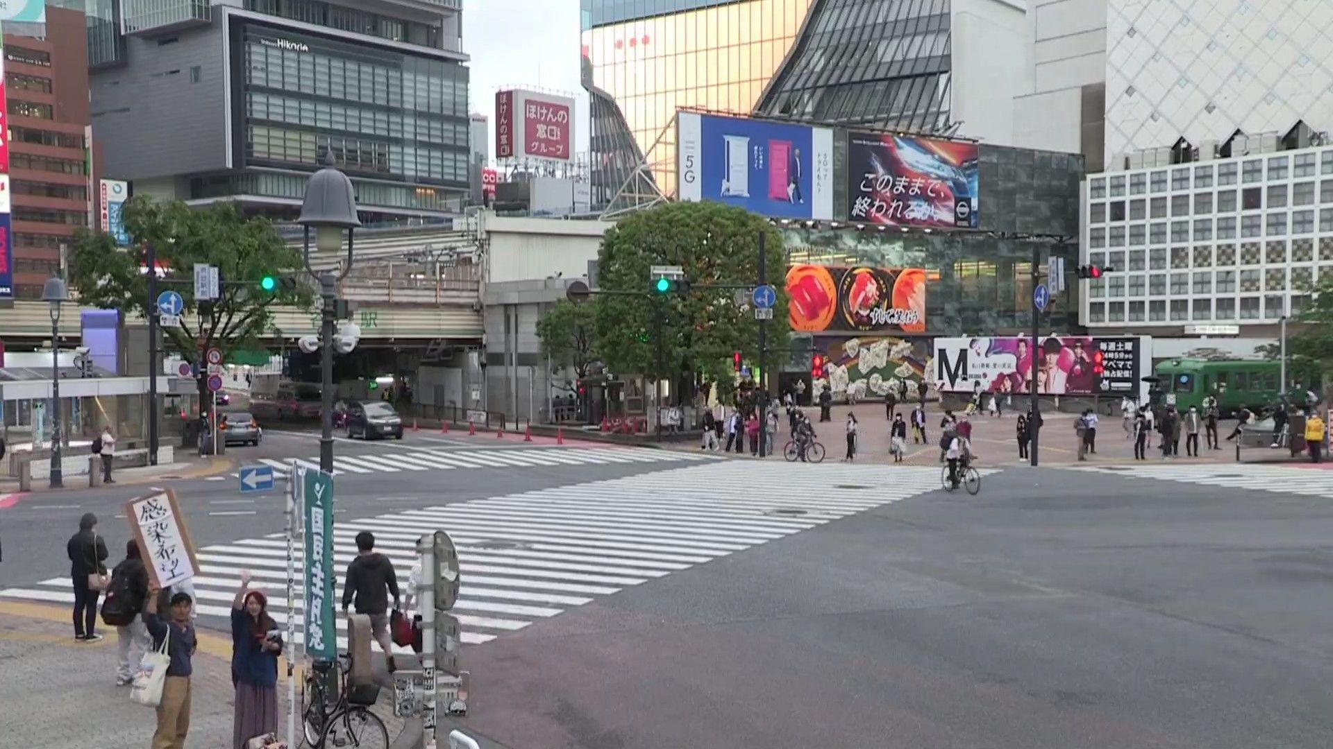 ライブ 渋谷 カメラ スクランブル