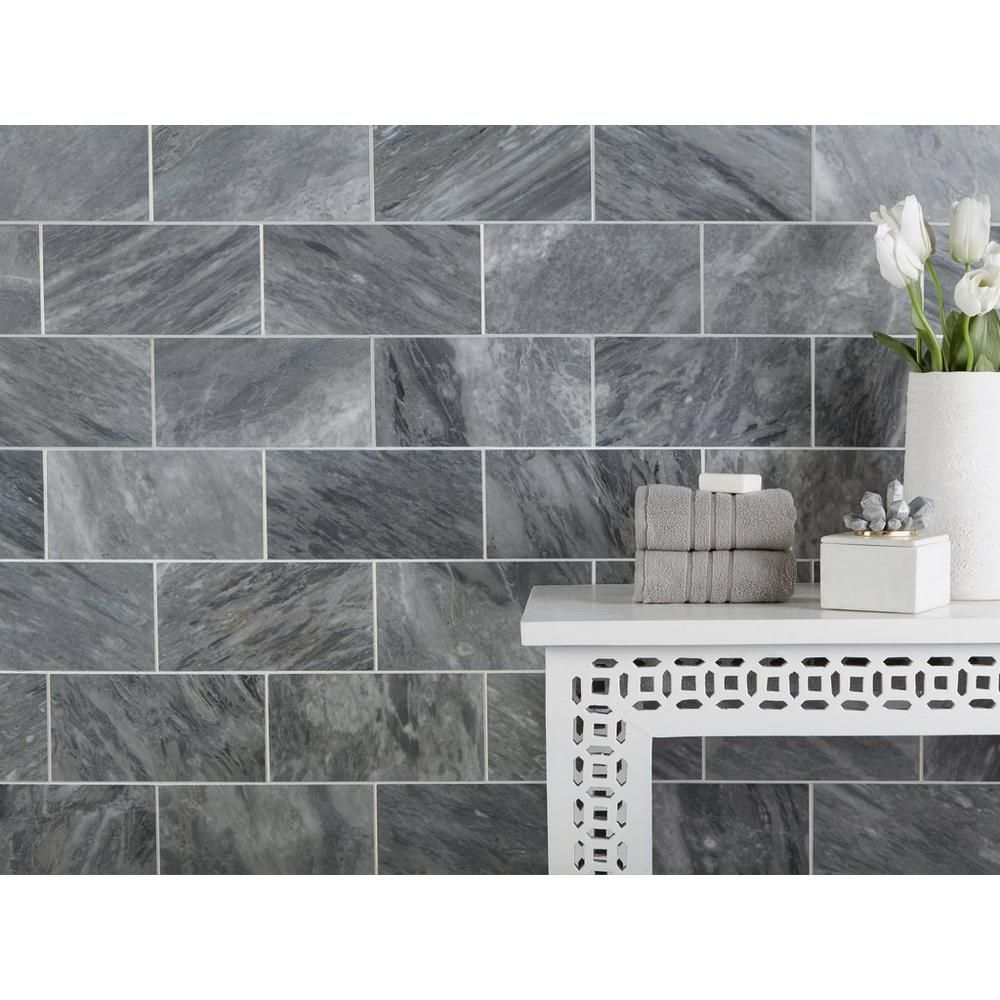 Bardiglio Honed Marble Tile Honed Marble Tiles Honed Marble Marble Tile