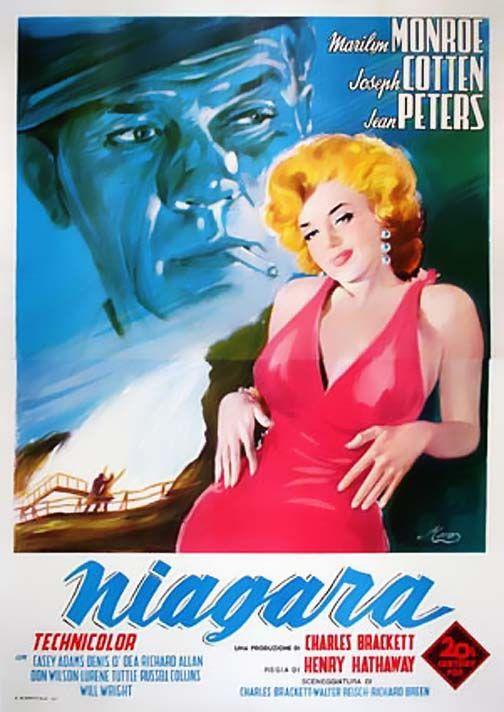 Niagara (1952) - Italian Two-Foglio