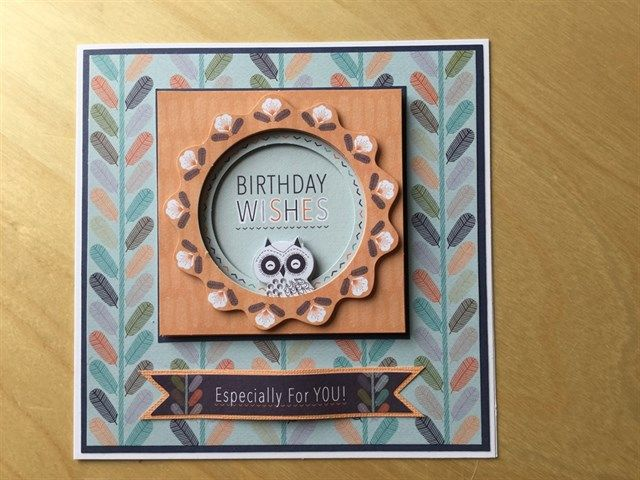 Card Making Ideas Owls Part - 20: Owl Folk Birthday Card | Docrafts.com. Anniversary CardsCard IdeasOwl ...