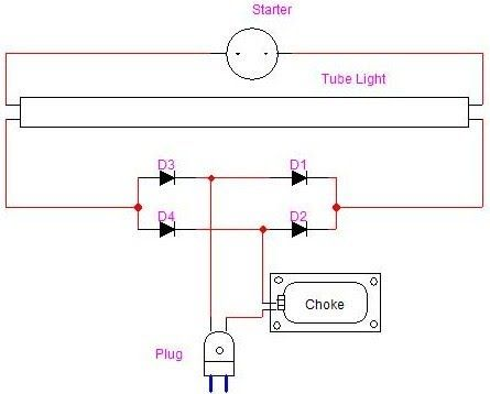 Fuse Tube Light Circuit Diagram | Electronics and electrical ...