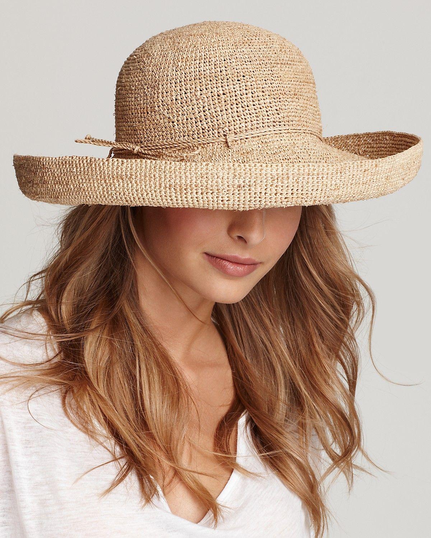 7ada1d46493e3c Helen Kaminski Provence 12 Crochet Hat | Bloomingdale's ...