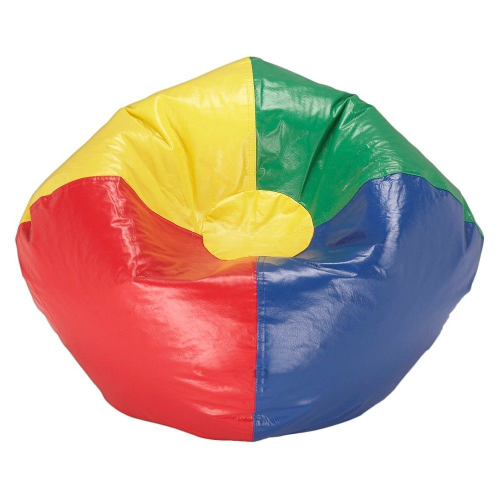 Pleasing Bean Bag Chair Matte Multi Ace Bayou Rainbow Products Andrewgaddart Wooden Chair Designs For Living Room Andrewgaddartcom