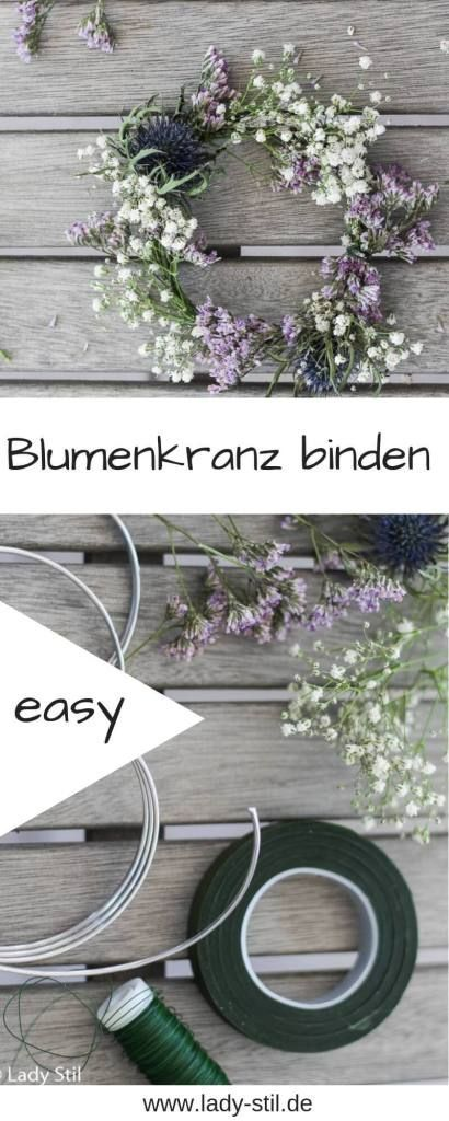 Photo of Blumenkranz binden – lady-stil.de