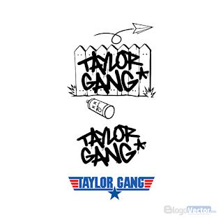 Taylor Gang Logo Vector Cdr Logo Design Typography Taylors Gang Vector Logo