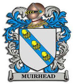 Muirhead family crest