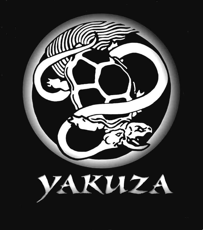 Фото с надписью якудза