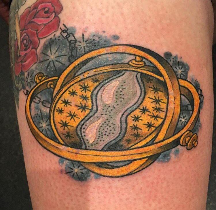 New time turner tattoo! #harrypotter