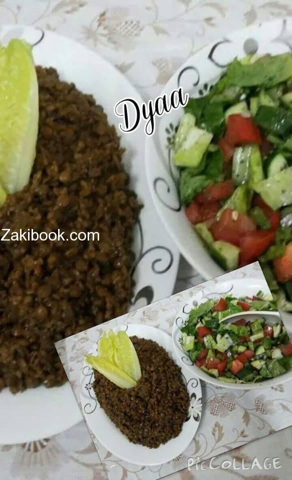 طريقة عمل المجدرة الحمرا على الطريقة اللبنانية زاكي Cooking Recipes Recipes Food