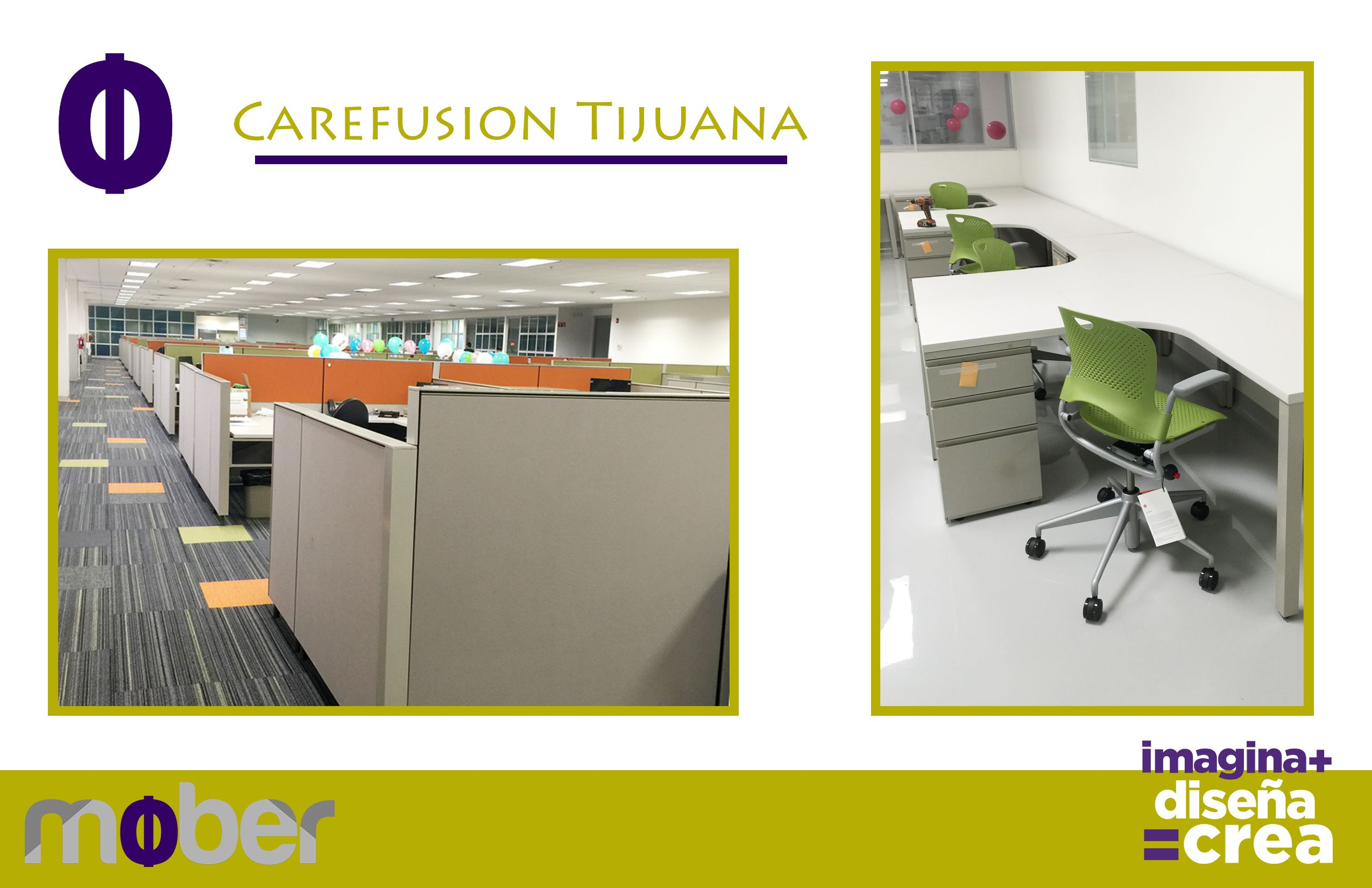Nuestros amigos de Carefusion Tijuana ya disfrutan de los beneficios del Living Office. Calidad Mober!