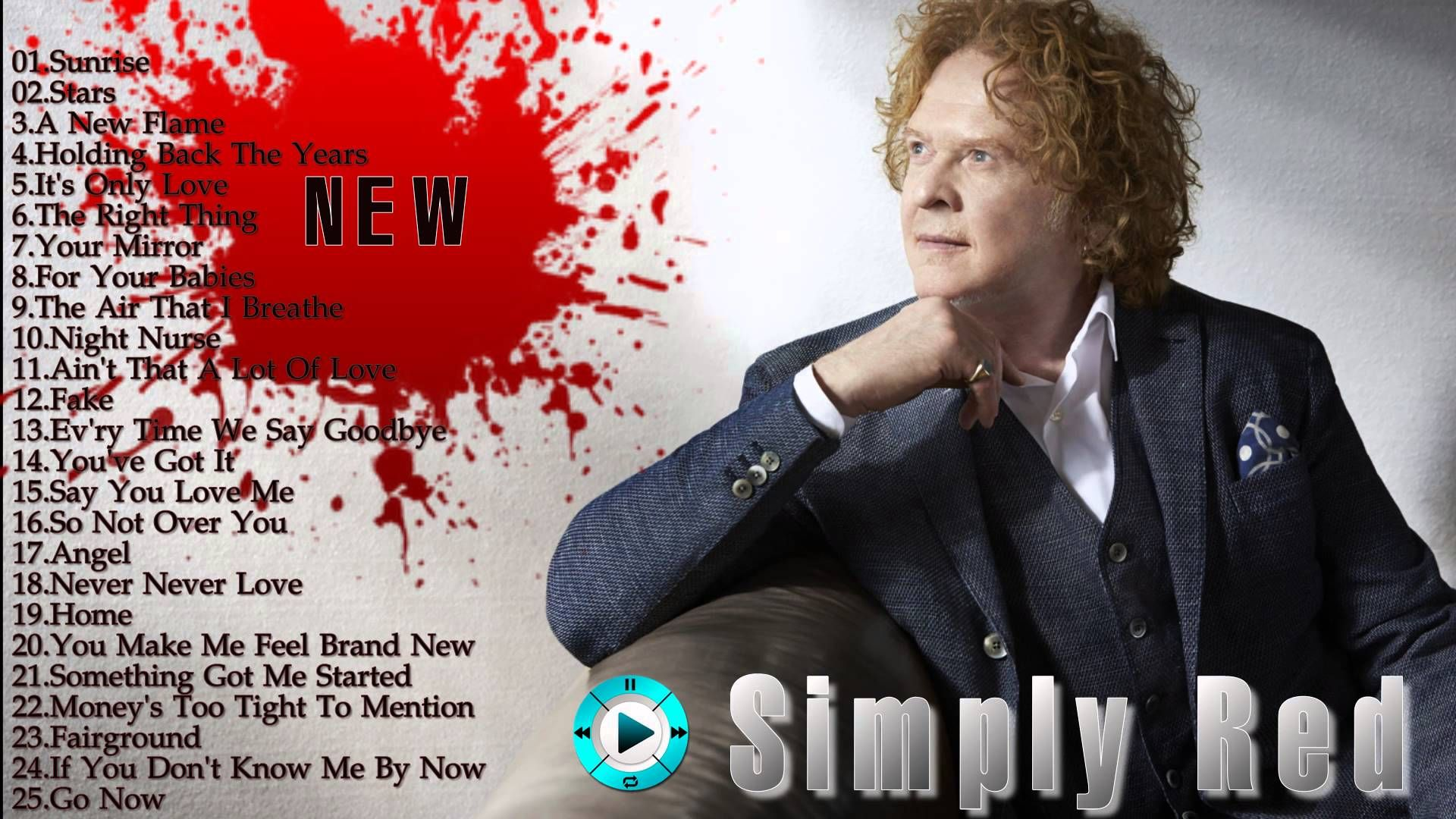 simply red greatest hits (HD / HQ) simply red best songs