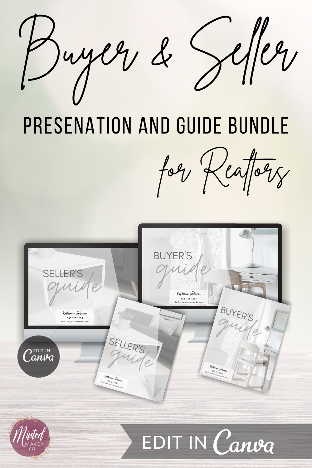 Buyer and Seller Presentation and Guide Bundle for