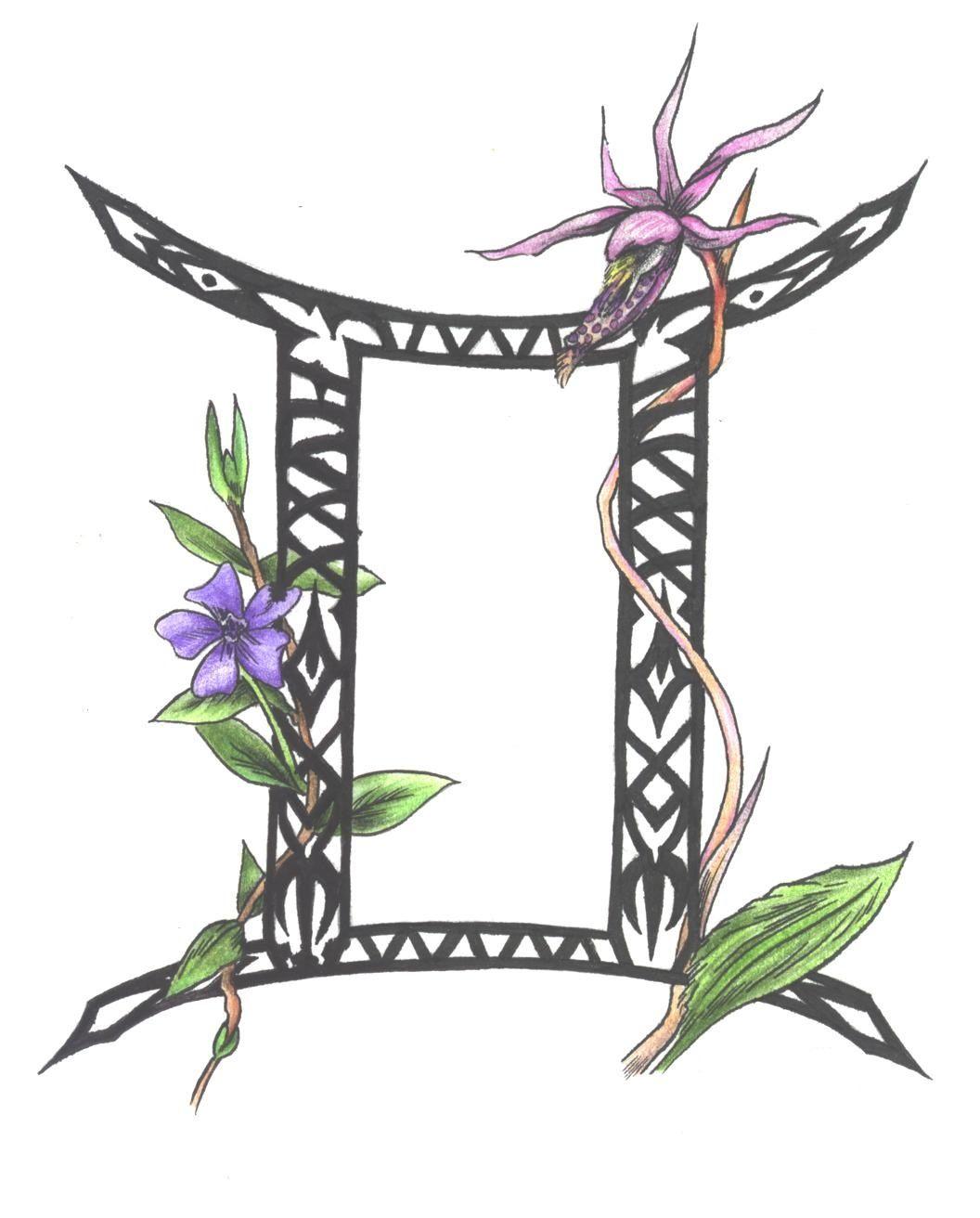 Gemini Symbol Tattoo Designs Body Art Ideas Pinterest Gemini
