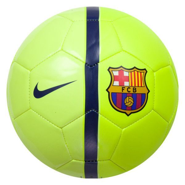 NIKE FC BARCELONA SUPPORTERS SOCCER BALL SIZE 5 2014 15 LA LIGA SPAIN VOLT f7518f91a34