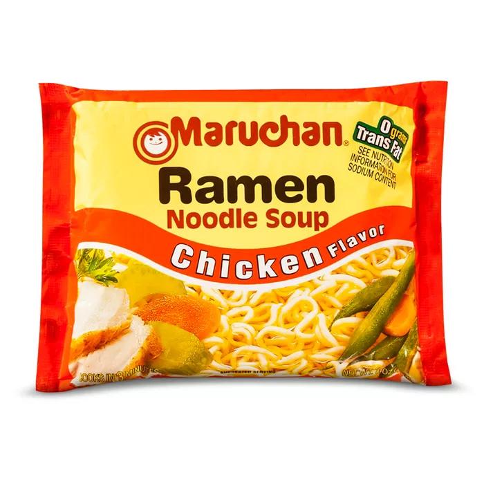 Maruchan Ramen Noodle Soup Chicken Flavor 3oz In 2021 Ramen Noodle Soup Maruchan Ramen Noodles Maruchan Ramen