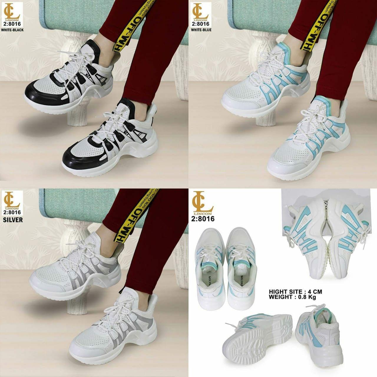 Sepatu Merek Lincon Seri Ax8016 Kualitas Original Brand Bahan