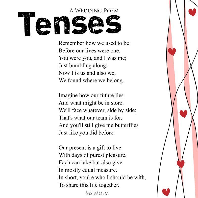 Poems For Wedding Ceremonies: 13 Original Wedding Poems
