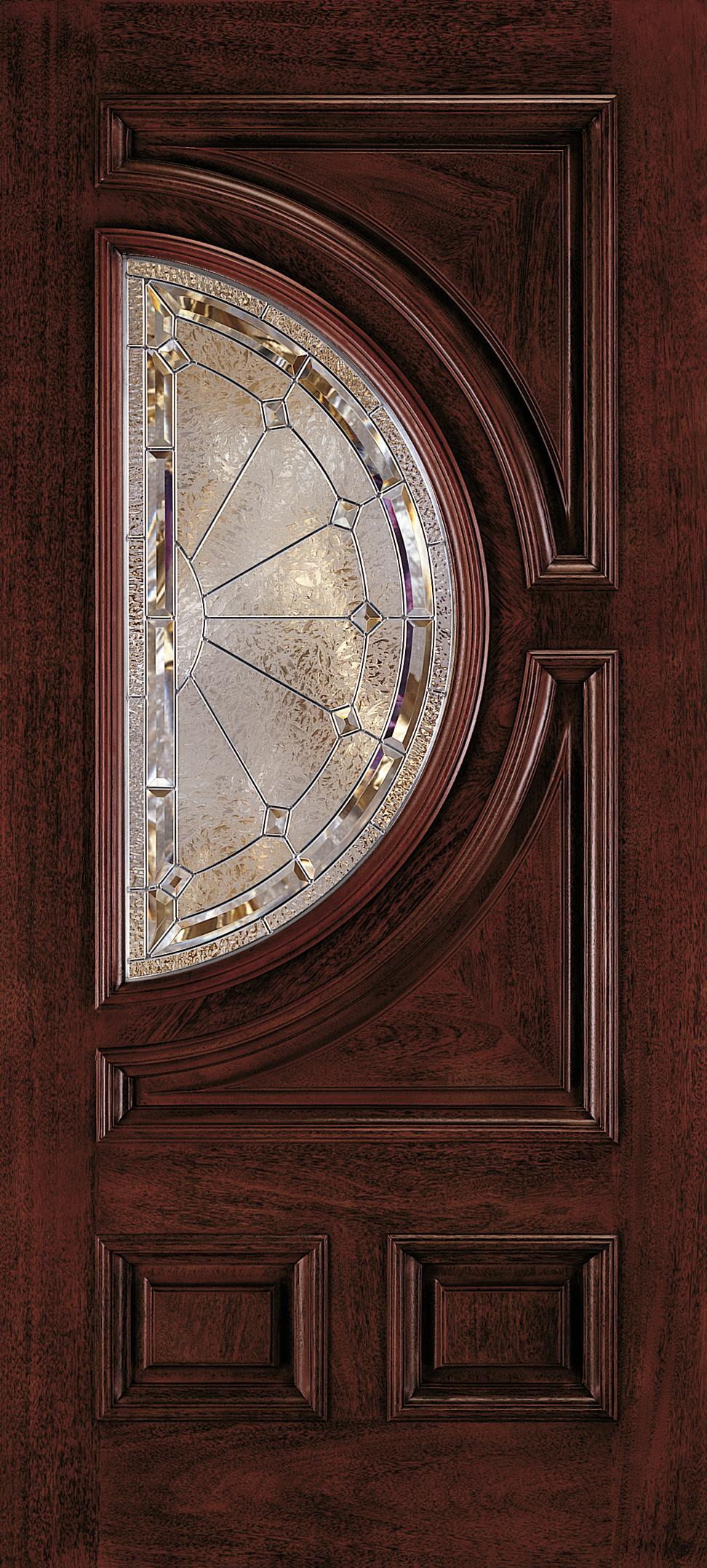 Aurora Custom Fiberglass Glass Panel Exterior Door Jeld Wen Doors Windows Door Glass Design Wooden Glass Door Entry Door Designs