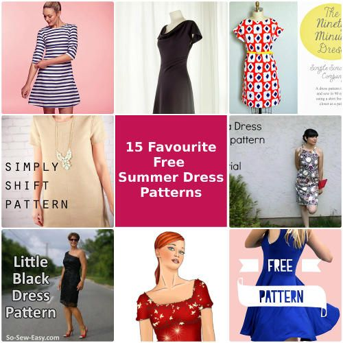 15 Favourite Free Summer Dress Patterns So Sew Easy Contributor