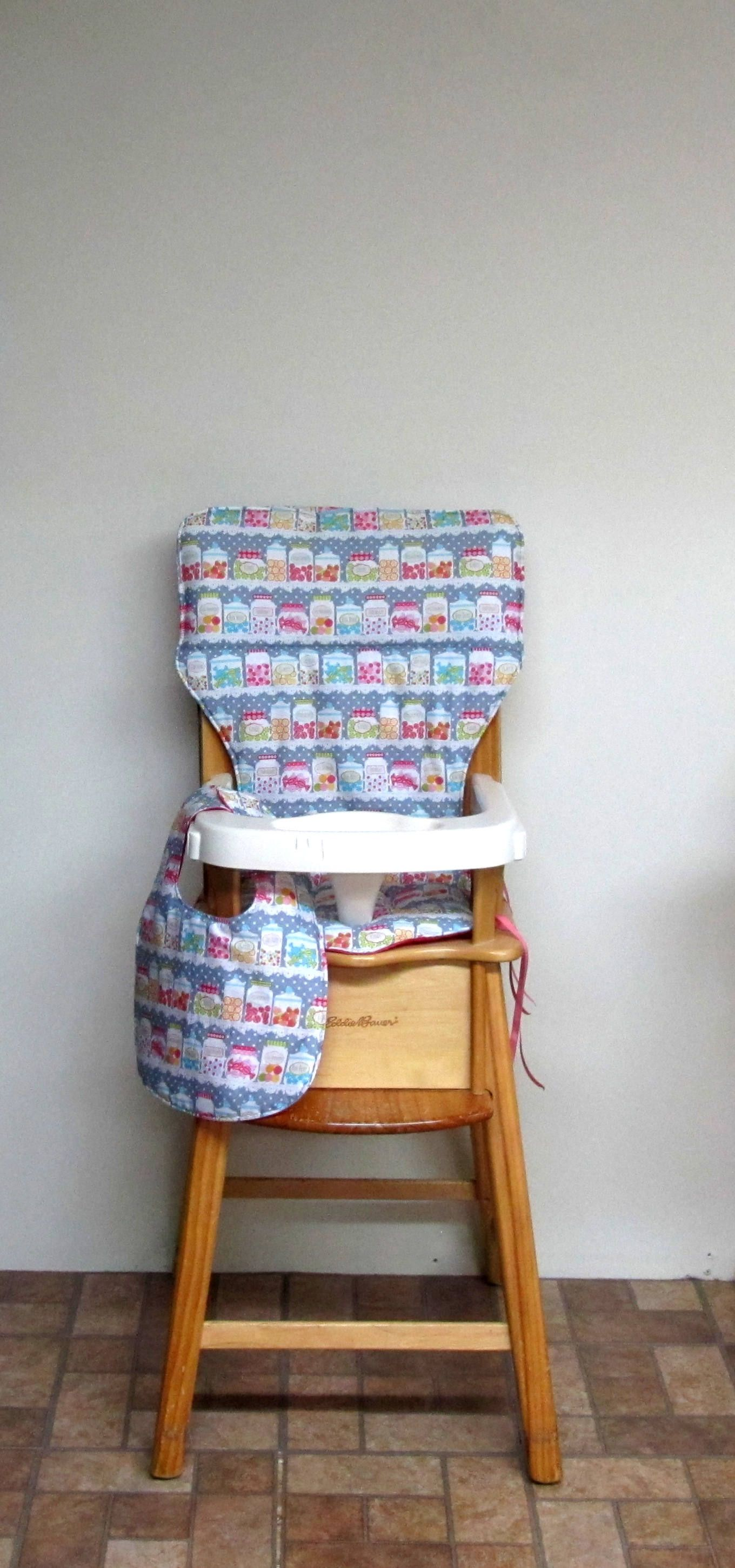custom eddie bauer wooden high chair pad replacement cover kids