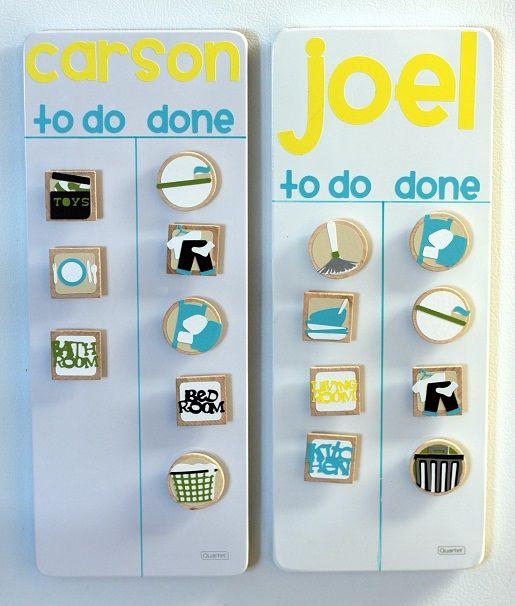 Magnetic Chore Chart Pinterest: Cricut chore-chart-ideas | Lil Miss Stuff [or Me :)] | Pinterest ,Chart
