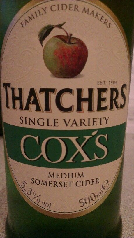 Thatchers Cider Cox