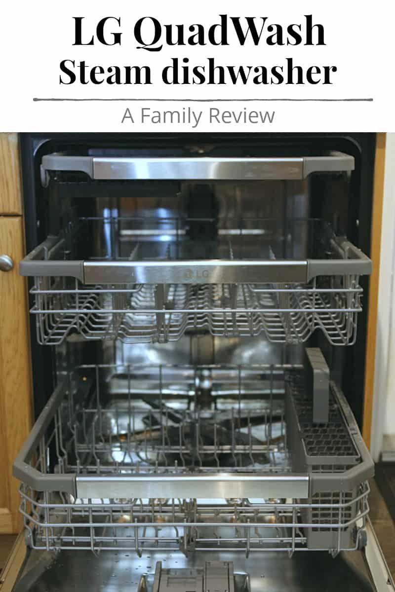 Ad Shining A Light On The Lg Quadwash Steam Dishwasher Family Review Lgdishwashermy