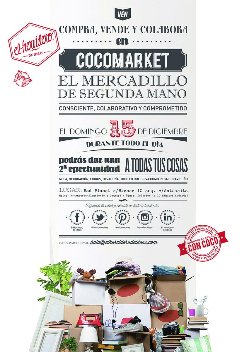 Ii Edici N De Cocomarket El Mercadillo De Segunda Mano En Madrid  ~ Mercadillo De Segunda Mano Madrid