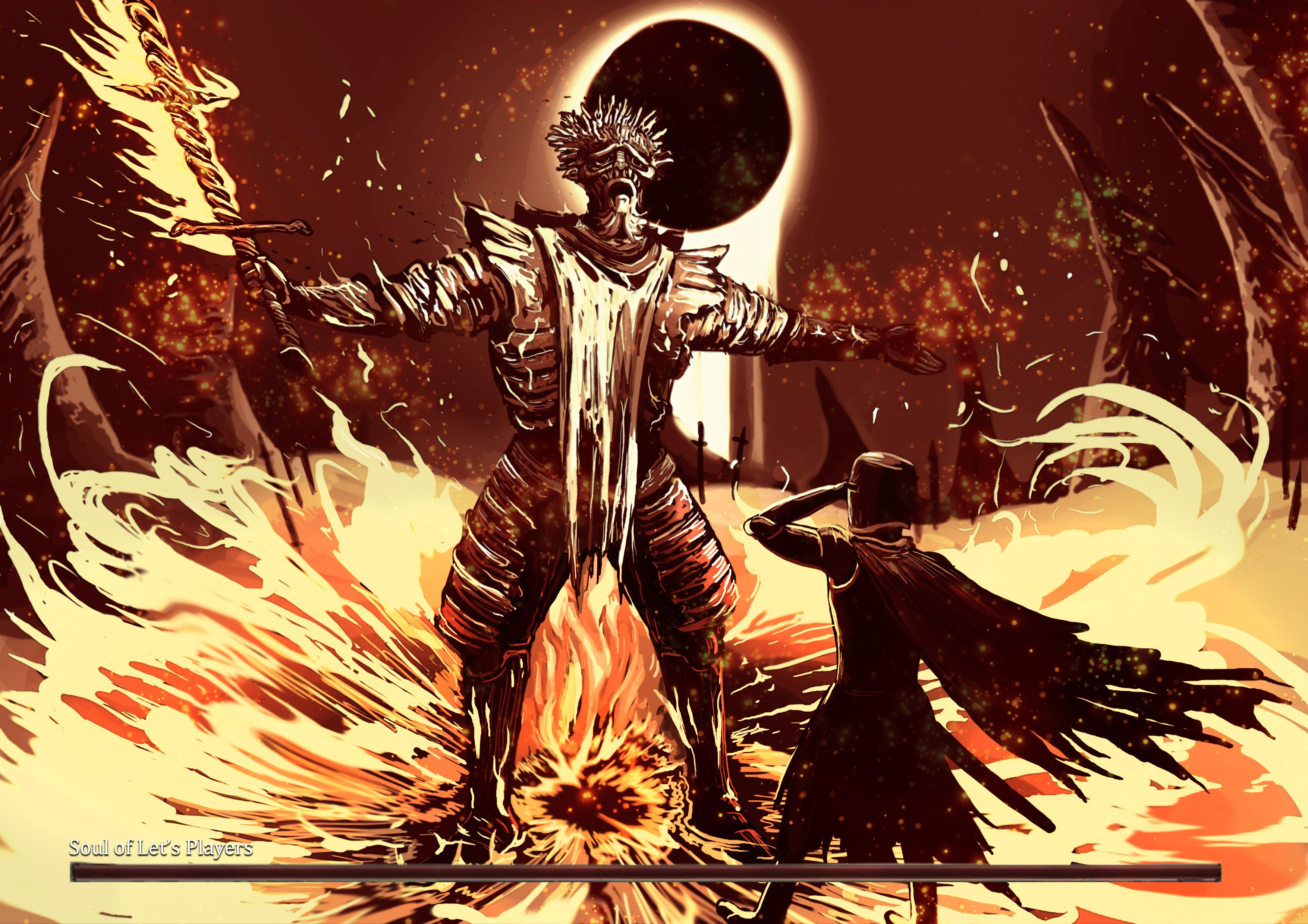 Soul Of Cinder Fan Art: [Fan Art] Dark Souls 3.5 (AKA Youtuber Souls) : Darksouls3