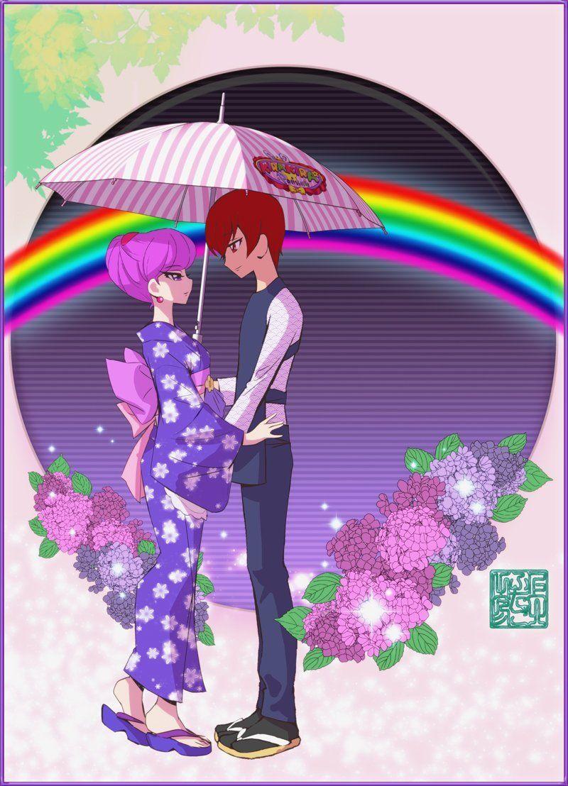art by futago kamikita anime cartoon art pretty cure