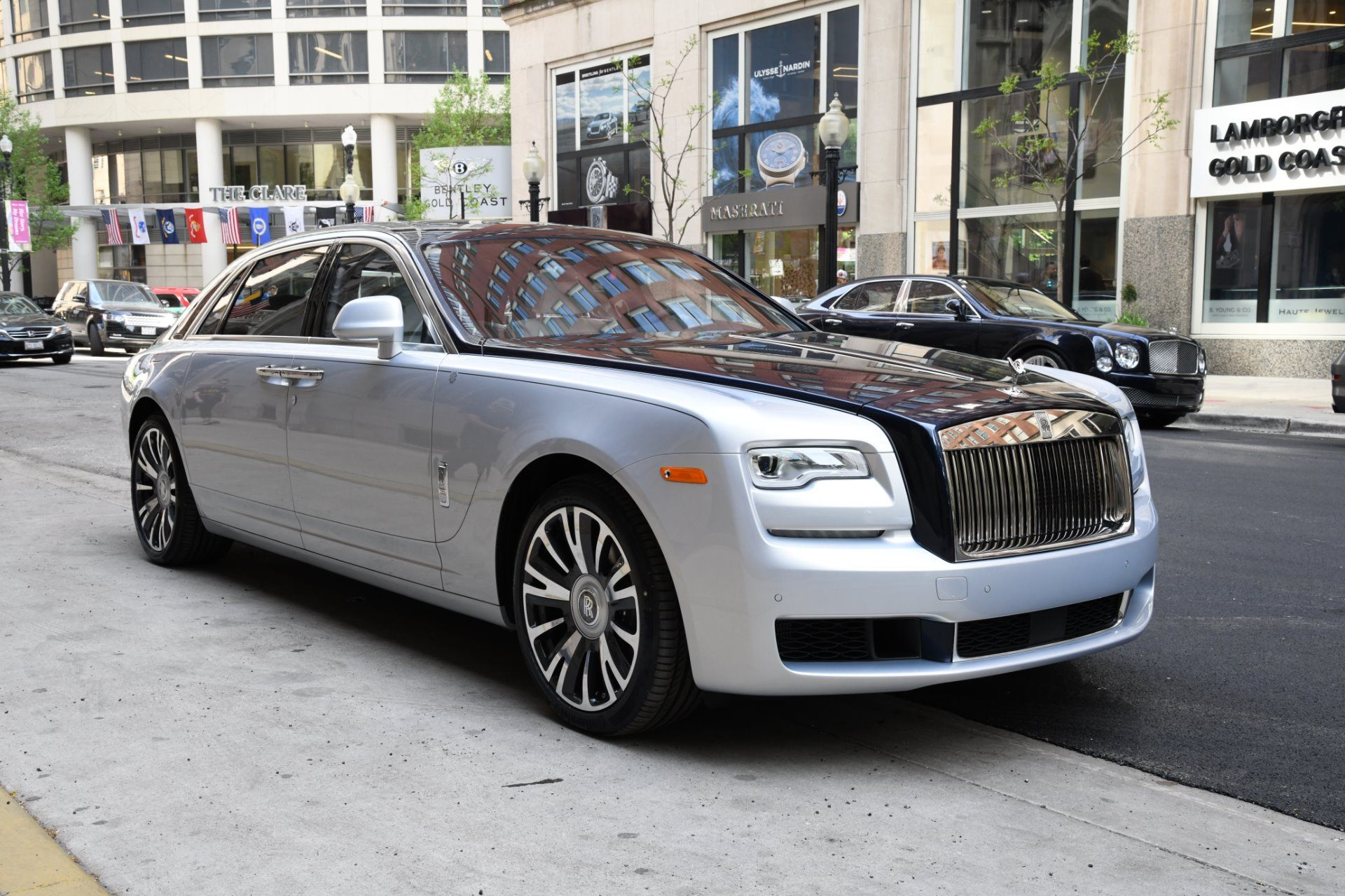 43++ Rolls royce ghost extended background