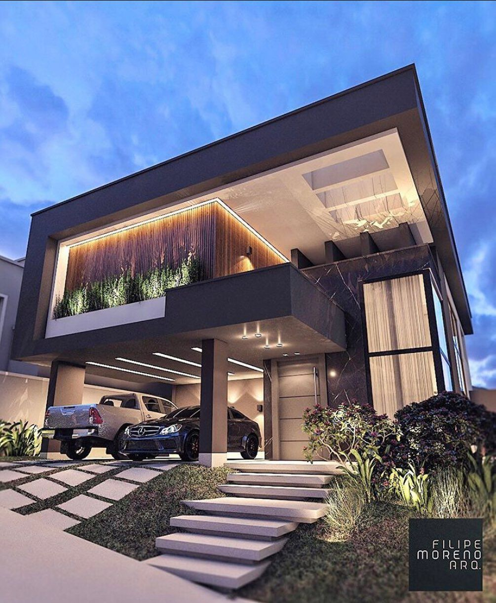 Homes Luxurious Houses On Instagram Modern Home Concept Design Tag A Buddy That Must See This Home Luxury House Designs Facade House Exterior Design
