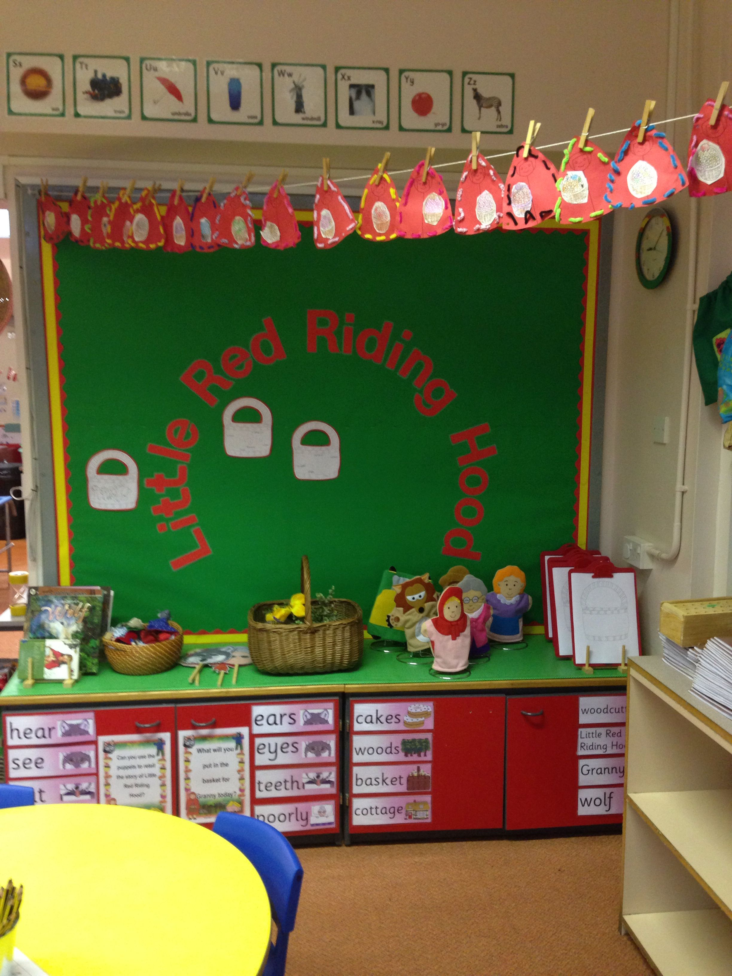 Little Red Riding Hood Display