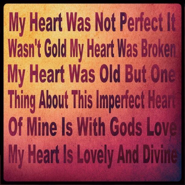 Make Me Fall Apart: My Heart Is Breaking, God Loves Me
