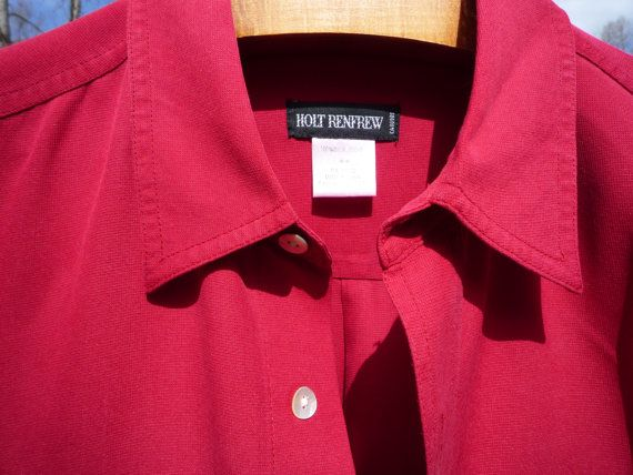 HOLT RENFREW premium silk size M gorgeous & by VeloceFineFashion