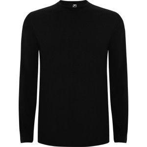 Camiseta Algodon Manga Larga T S Negra Mangas Largas Camisetas Largas Camisetas