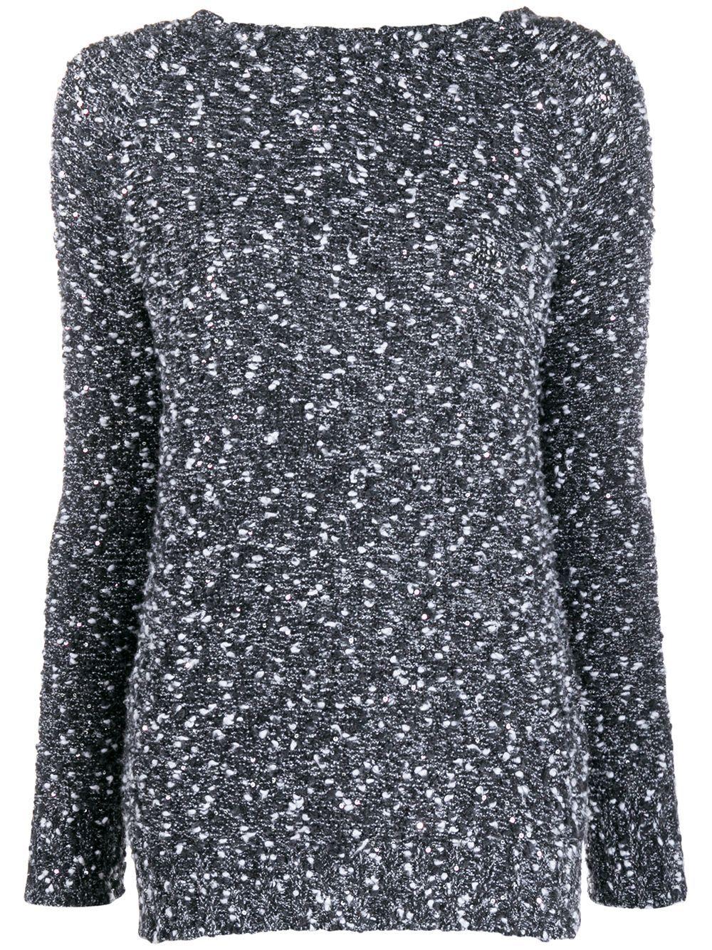 Snobby Sheep round-neck knit jumper - Black