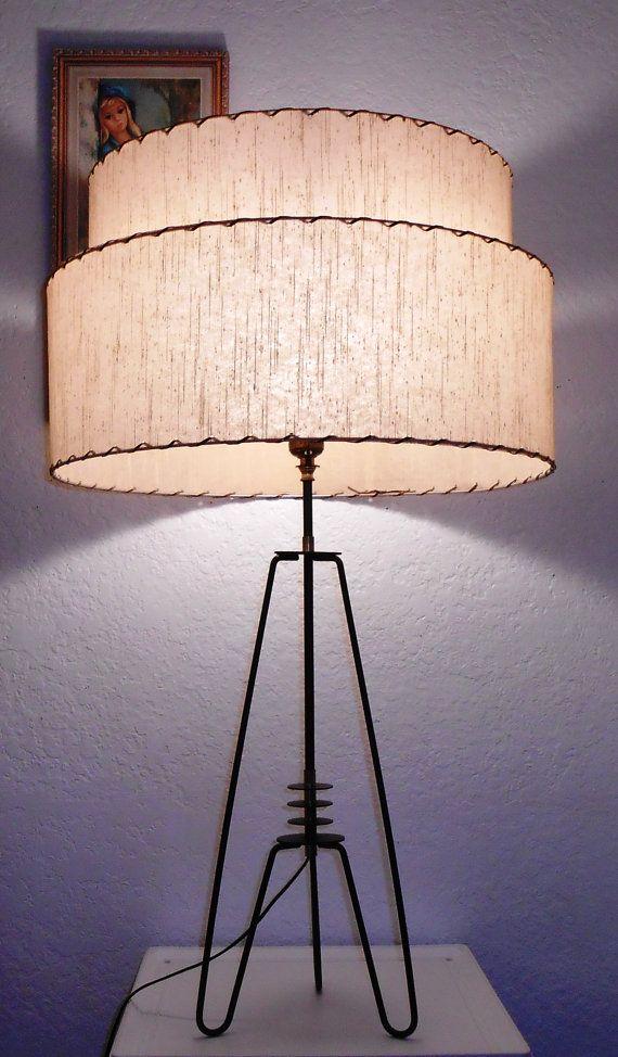 Atomic E Age Lamp