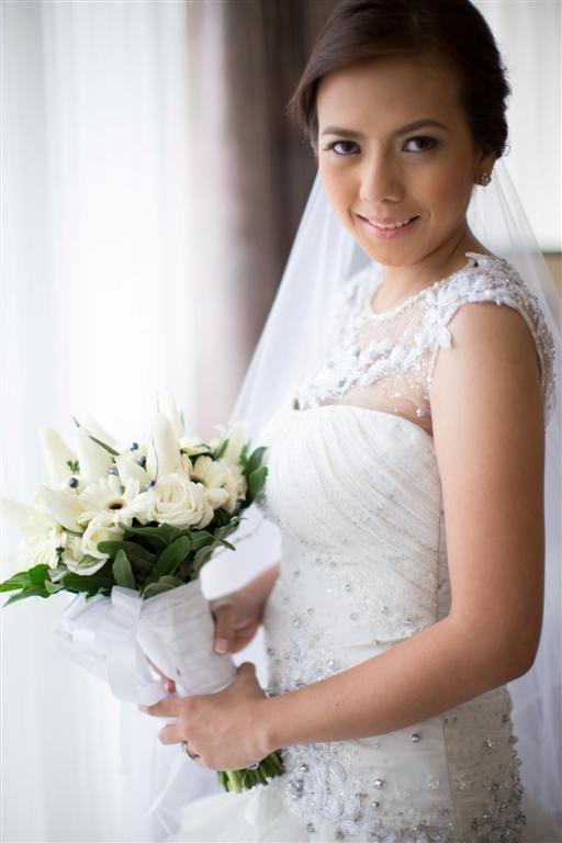 My Bride - Wedding gown by Amonn Velasco #blackandwhite #wedding ...