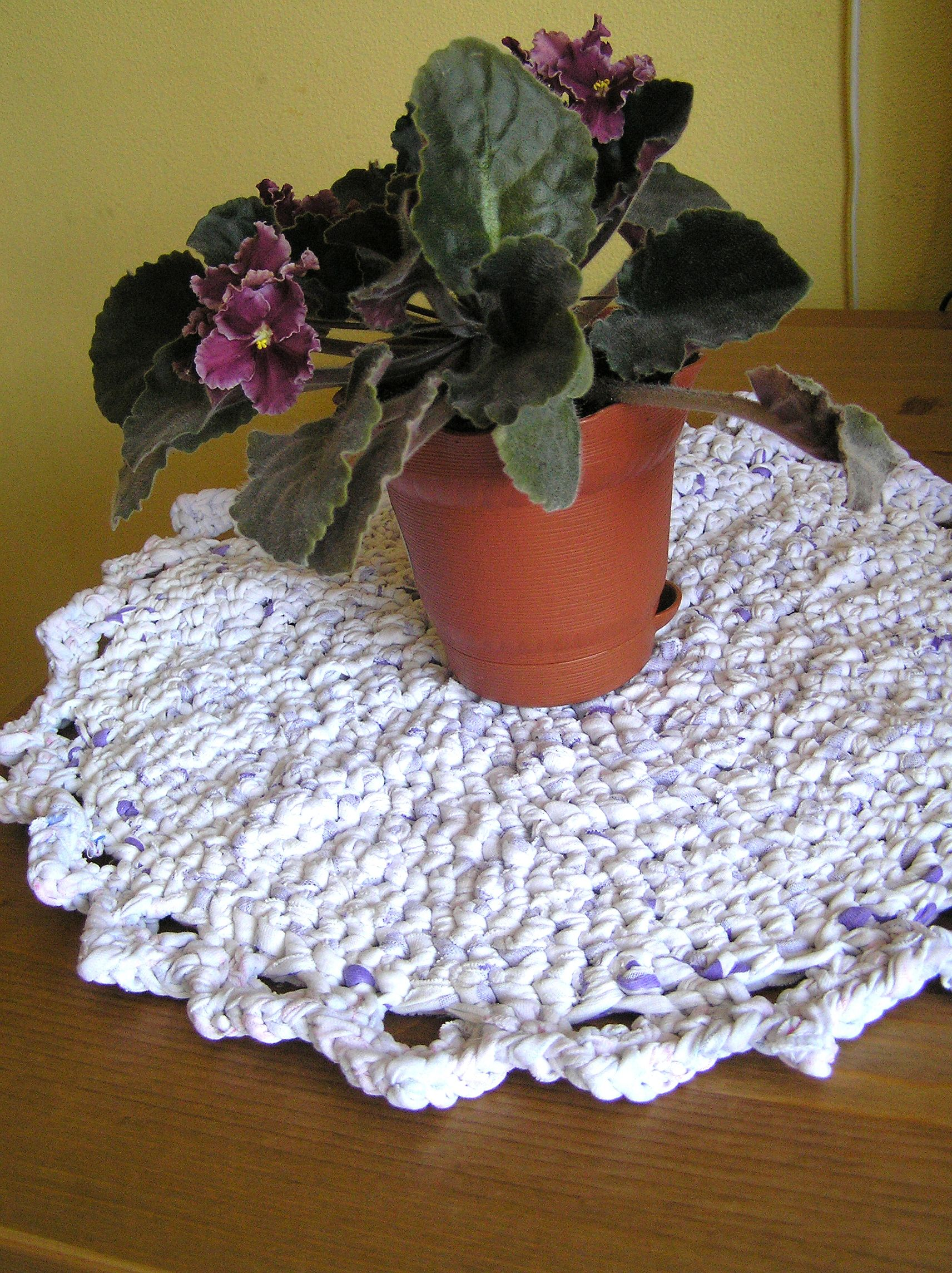 Round Placemat Pastel Table Cats Pets Mat Small Rag, Play Mat, Small Rag  Rug, White Lavender Small Round Crochet Cat Cat Mat, Chair Seat Pad, Cats  Bed Beds, ...