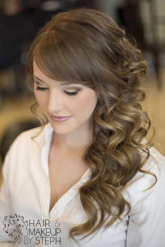 Wedding Hair For Me But With Roses Wedding Hair Side Hair Styles Side Hairstyles