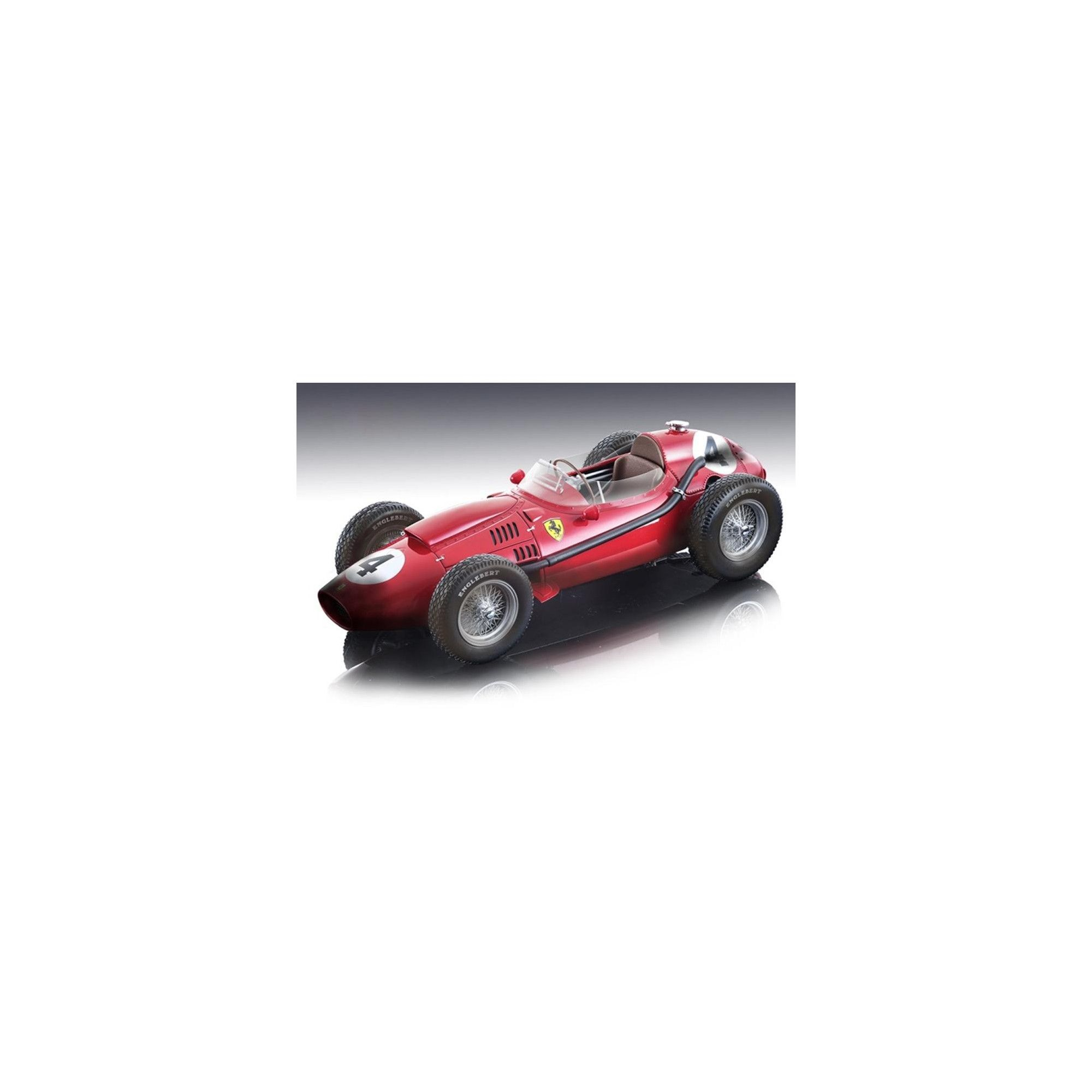 Ferrari Dino 246 #4 Mike Hawthorn Winner F1 France GP 1958 (After the Race) Ltd Ed 200 pcs 1/18 Model Car by Tecnomodel
