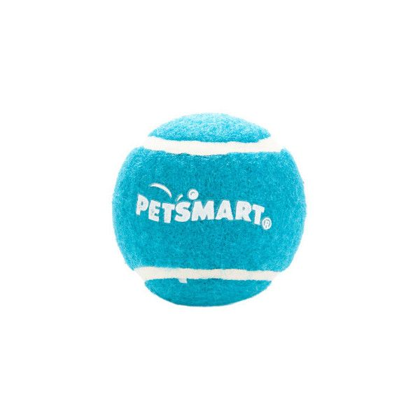 Grreat Choice Petsmart Logo Tennis Ball Dog Toy 1 29 Aud Liked On Polyvore Featuring Pet Stuff And Pets Petsmart Dog Ball Dog Toys