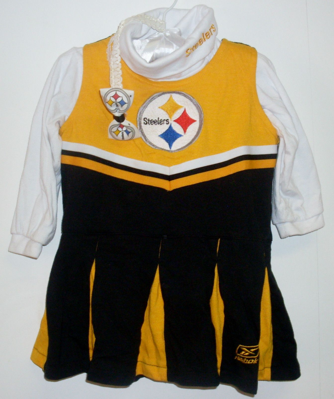 Pittsburgh Steelers NFL Football Cheerleader Outfit made by Reebok. Baby  Girls size 18 Months. Im pretty sure I had one of these and so will my  Daughter. 04949bd01