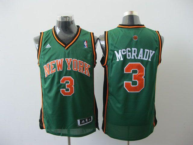 info for 5d6f2 fcf27 New York Knicks - Tracy McGrady (St. Patrick´s day jersey ...