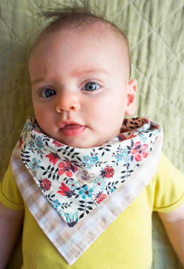 Bandana bibs are definitely a stylish finishing touch to your baby's outfit, but these bold bibs are just as practical, too. The waterproof liner sandwiched between the thick, cotton fabric keeps your baby clean and dry while enjoying their first few spoonfuls.