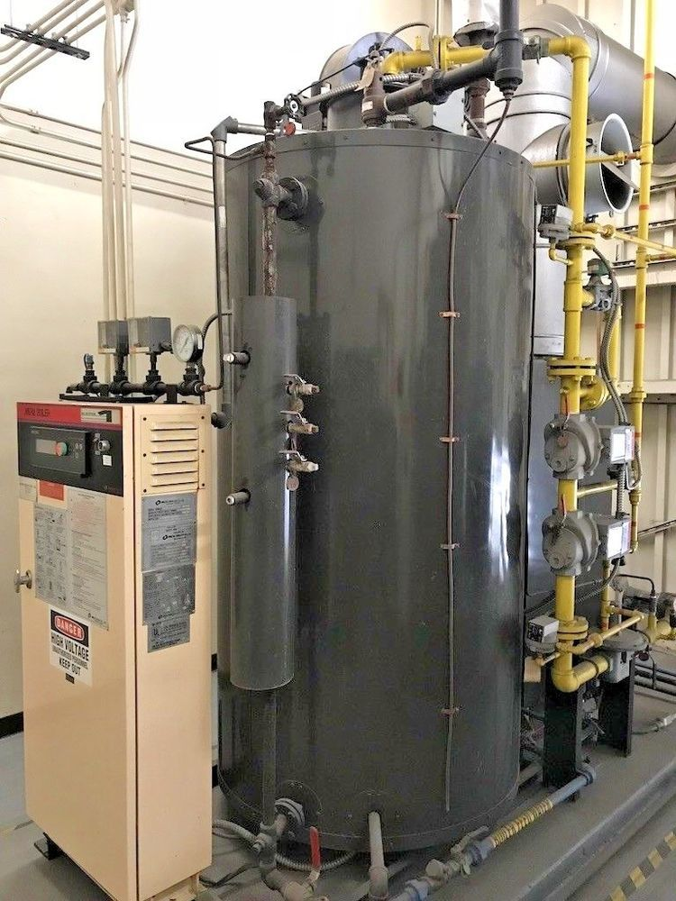 Miura mdl wx-50g high efficiency steam boiler 50 ton / 10 to 40 ...