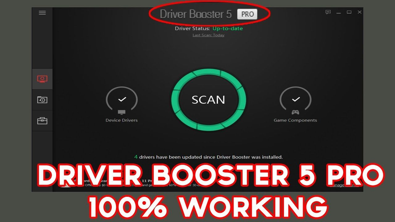 Iobit Driver Booster 5 Pro Serial License Key 100 Working