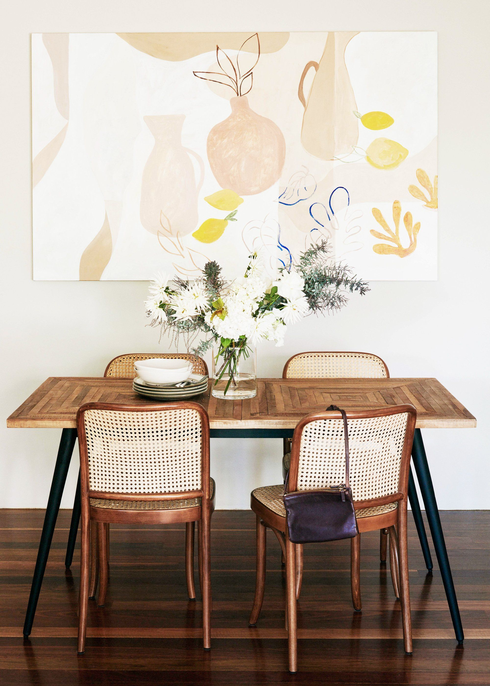 Transform Your Tiny Dining Room Into an Entertaine