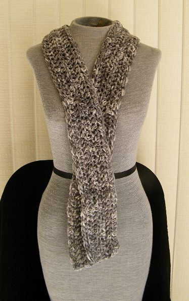 301  Shades of Grey Scarf by KiwiCordell on Etsy, $15.00